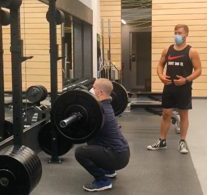 UpFit Training Academy - Squat Progression
